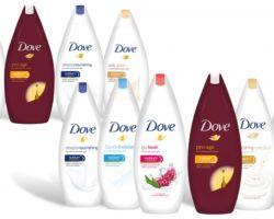 dove shower gel